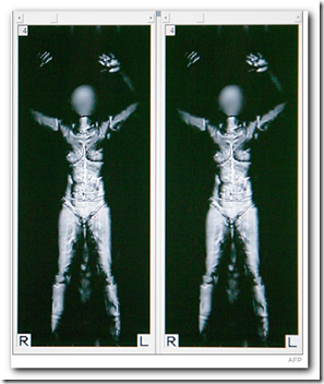 What the TSA's new body scanner images look like - Medical ...
